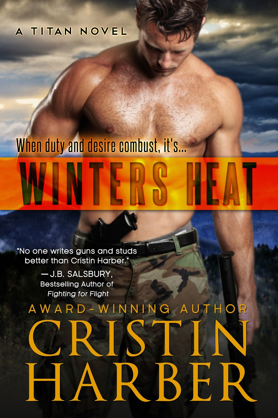 Blog Tour: Winter's Heat by Cristin Harber