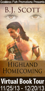Blog Tour & Interview: Highland Homecoming by B.J. Scott