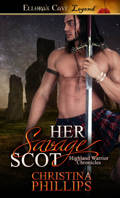 Cover Reveal: Her Savage Scot by Christina Phillips