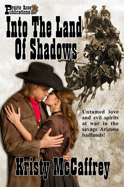 Interview with author of Into The Land of Shadows, KristyMcCaffrey