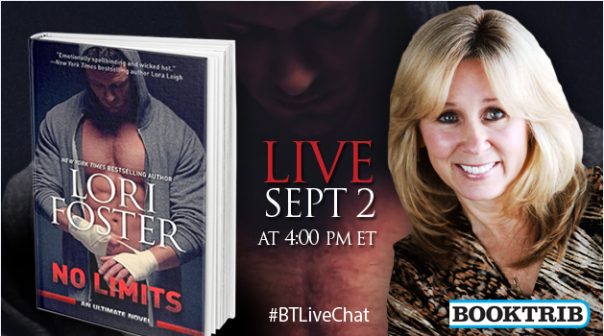 Booktrib: Live chat with Lori Foster on No limits!