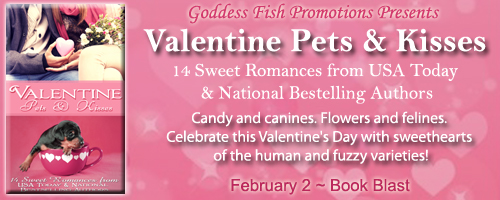 Blog Tour: Valentine Pets and Kisses by K.L. Brady, J.L. Campbell, Suzette Riddick