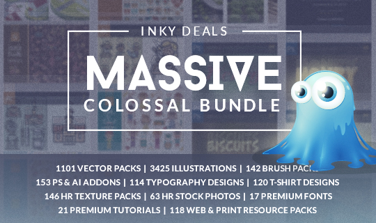The Massive Colossal Bundle: $38,108 worth of Items with an Extended License