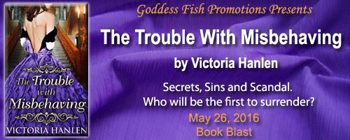 Blog Tour & Giveaway: The Trouble with Misbehaving  by Victoria Hanlen