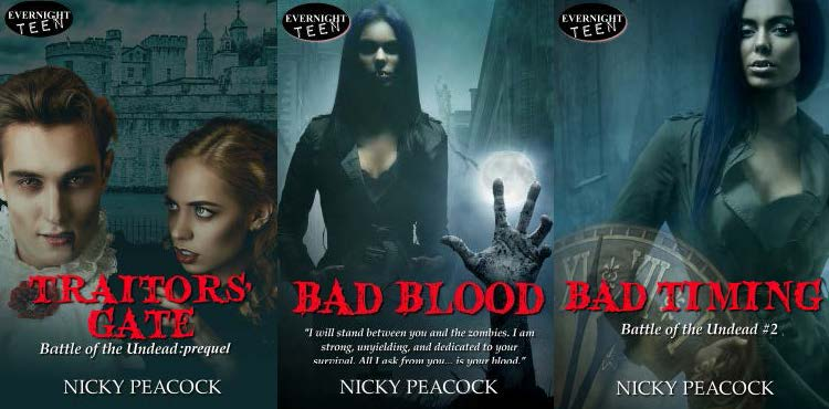 Interview with the author of The Battle of the Undead Series, Nicky Peacock!