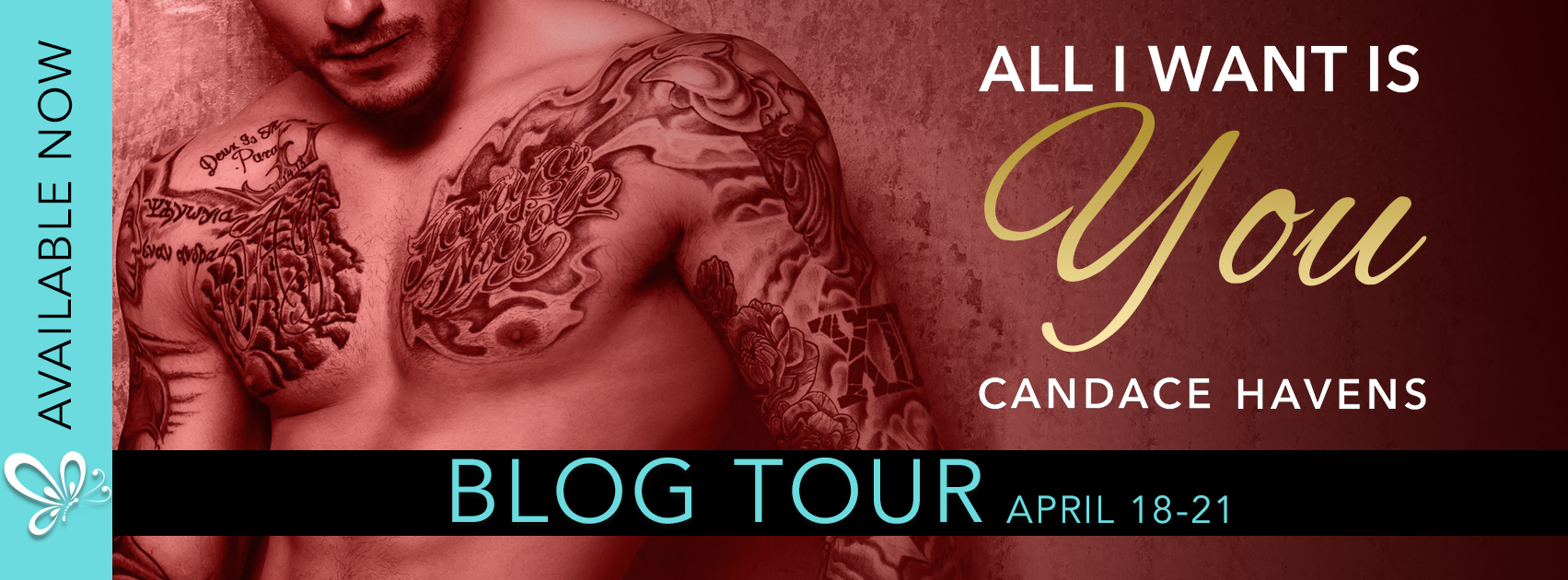 Blog Tour:  ALL I WANT IS YOU by Candace Havens