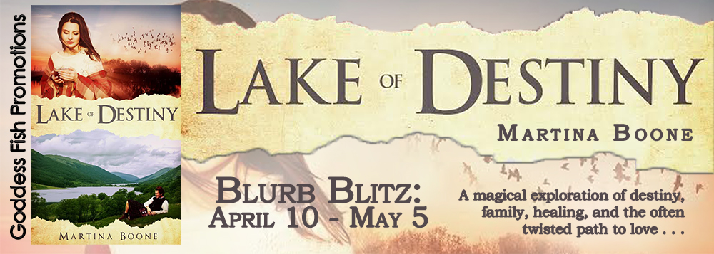 Blog Tour & Giveaway: Lake of Destiny by Martina Boone