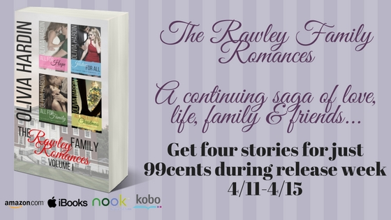 Blog Tour: Rawley Family Collection Vol I Release