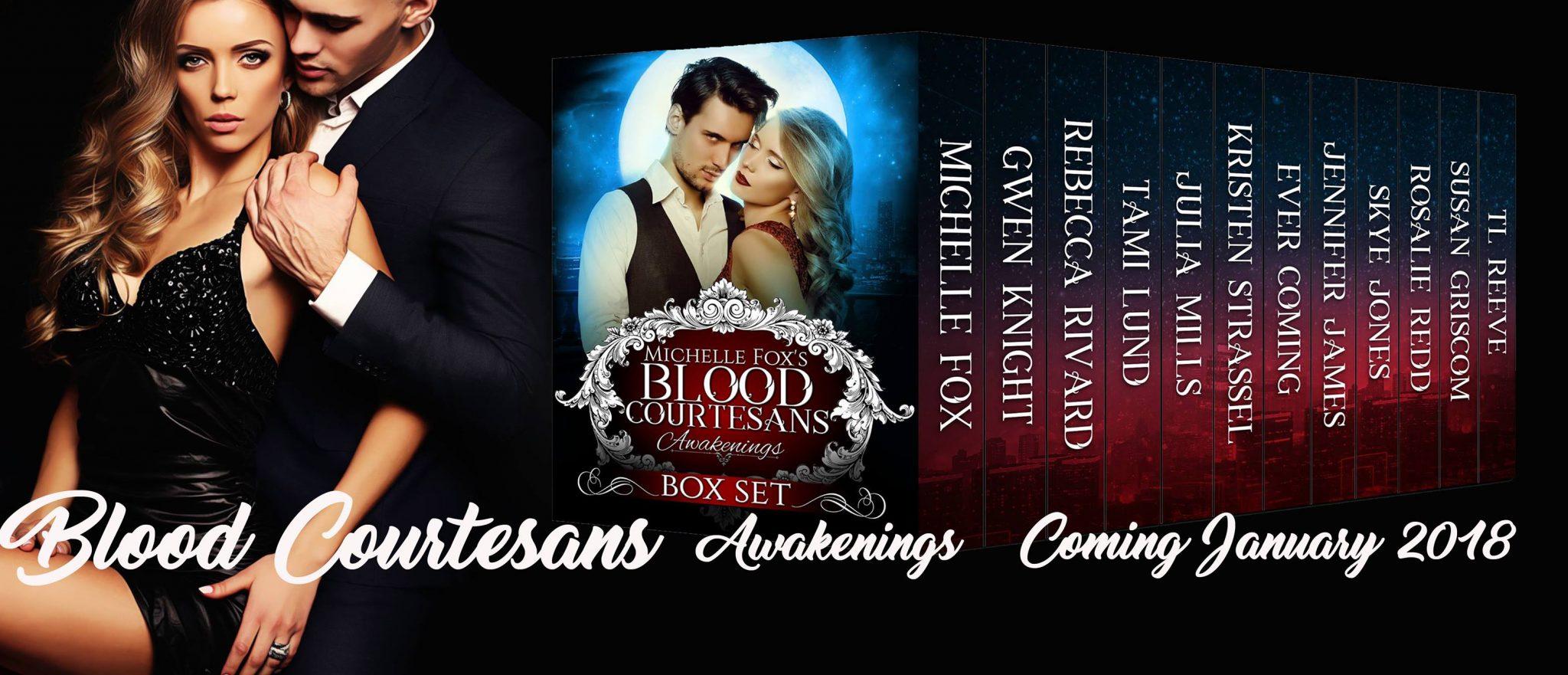 Pre Order Blitz & Giveaway: Blood Courtesans Boxed