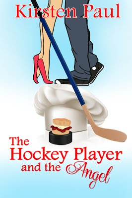 Blog Tour : The Hockey Player and the Angel